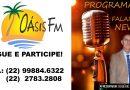 Programa Falando News. Todas as segundas sempre as 13h na Rádio Oásis FM.