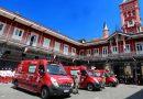 Corpo de Bombeiros RJ entrega 58 ambulâncias adquiridas com recursos da Taxa de Incêndio
